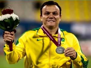 Para-atleta José Humberto (Foto: Reprodução/TV Integração)