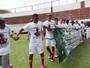 Em primeiro jogo após tragédia, sub-17 da Portuguesa empata no Canindé