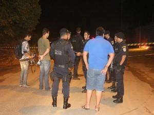 Vigilante fazia ronda na rua quando foi alvejado pelas costas (Foto: Ivon Camillo/Alerta Notícias)