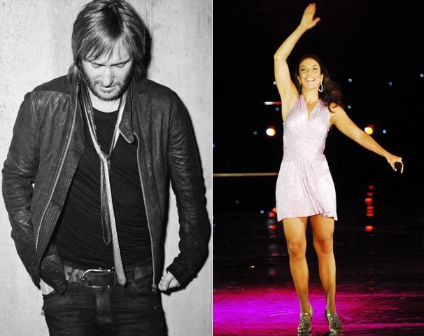 O DJ e produtor francês David Guetta e a cantora baiana Ivete Sangalo se apresentam no Rock in Rio, no dia 13 (Foto: Divulgação)