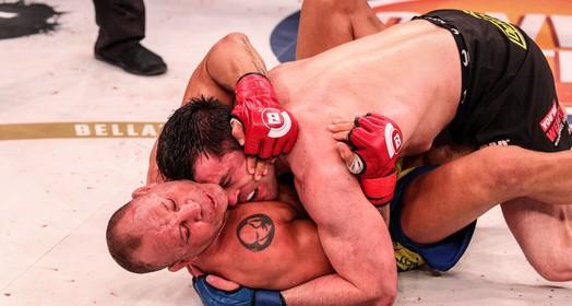 faltou calma (Bellator MMA / Lucas Noonan)