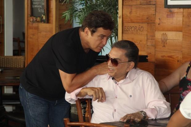 Marcos Frota e Dedé Santana (Foto: Ag.News)