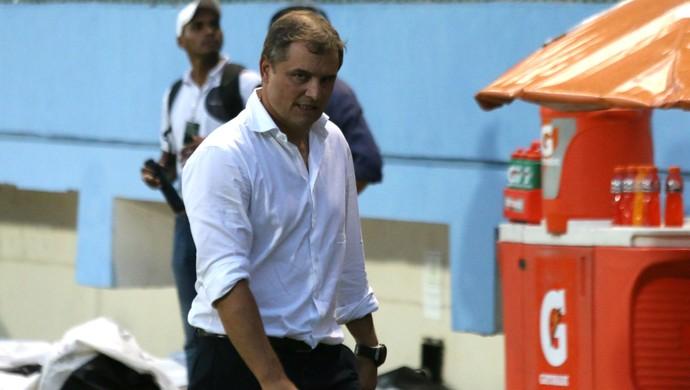 Emelec x Internacional Diego Aguirre Internacional Libertadores (Foto: Diego Guichard/GloboEsporte.com)