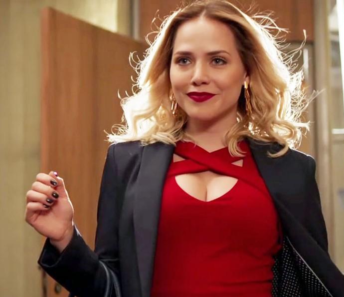 Letícia Colin viveu Angélica em 'Chapa Quente' (Foto: TV Globo)