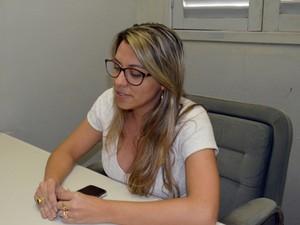 Psicóloga acompanha a saúde mental das detentas do Maria Júlia Maranhão (Foto: Dani Fechine/G1)