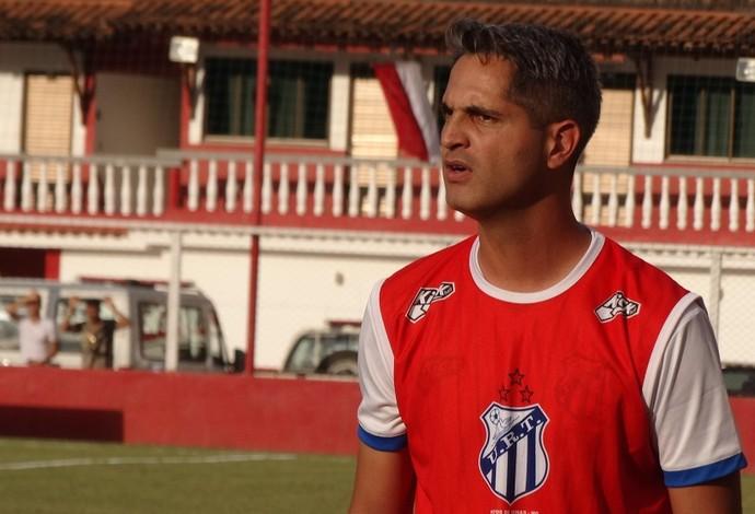 Rodrigo Santana, técnico, URT (Foto: Bruno Ribeiro)