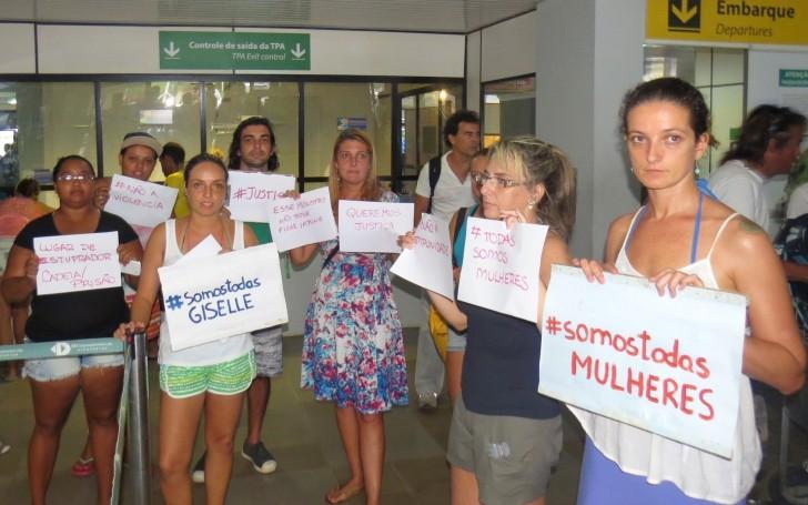 Protesto aeroporto 2