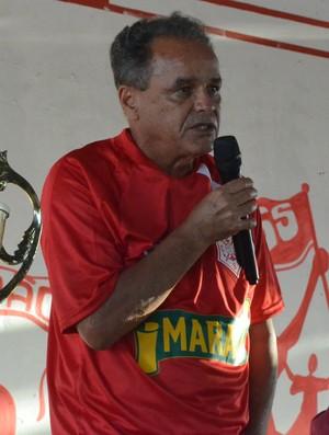 Roberval Davino, novo técnico do Sergipe (Foto: Felipe Martins/GloboEsporte.com)
