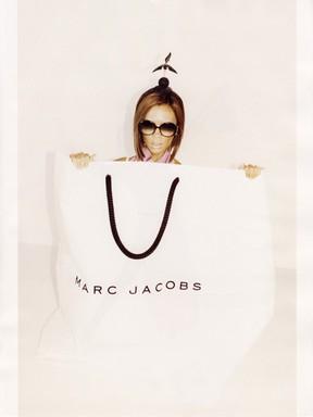 Victoria Beckham em campanha para Marc Jacobs (Foto: Divulgação)