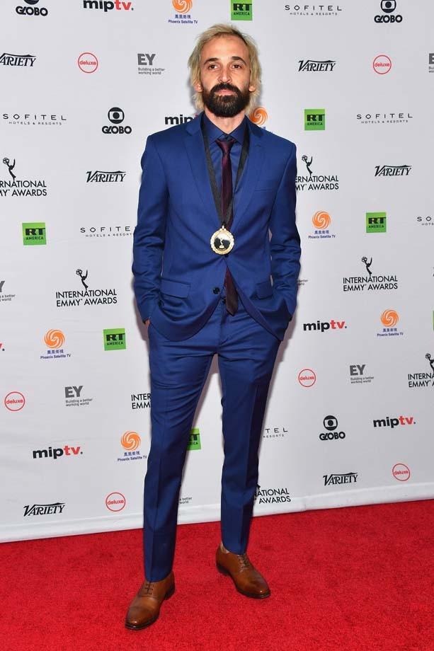 """O ator Julio Andrade, que concorreu como melhor ator por """"Um Contra Todos"""" (Foto: Getty Images)"""