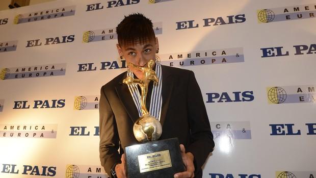 neymar santos rei das américas (Foto: EFE)