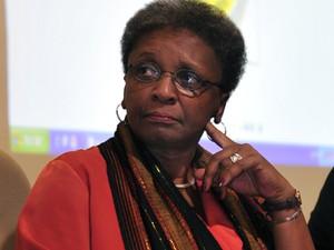 A ministra da Secretaria de Igualdade Racial, Luiza Bairros, durante evento contra a discriminação, em 2011 (Foto: Renato Araújo/ABr)