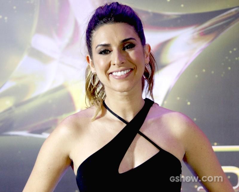 Fernanda Paes Leme na final (Foto: SuperStar / TVGlobo)
