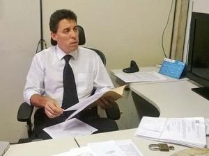 Delegaco Eurico Cunha Neto Juiz de Fora (Foto: Roberta Oliveira/ G1)
