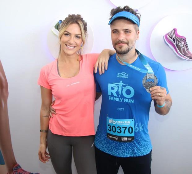 Giovanna Ewbank e Bruno Gagliasso (Foto: Daniel Pinheiro/AgNews )