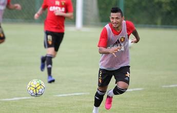 Após um mês de jejum, Rogério se vê mais tranquilo com gol feito pelo Sport