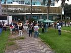 Servidores municipais iniciam greve e fazem manifestação em Ipatinga