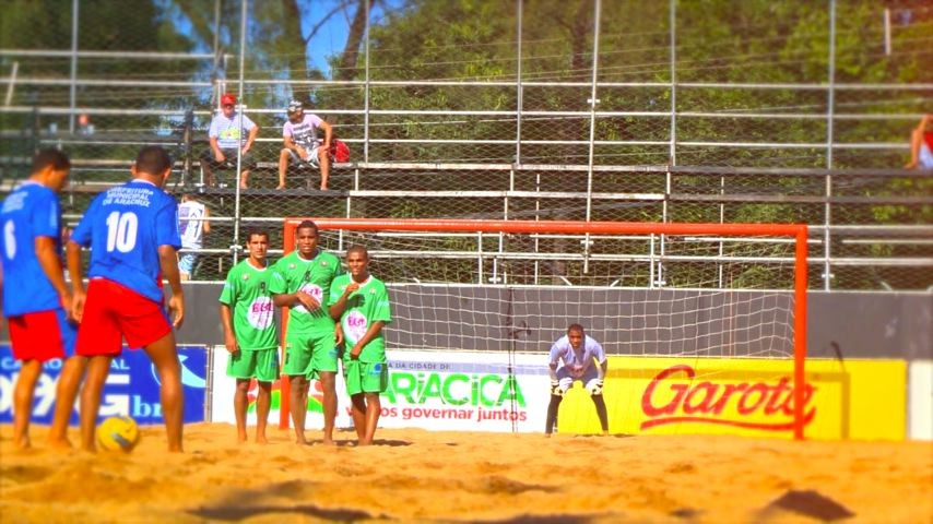 Campeonato Estadual de Futebol de Areia (Foto: Divulgação/ TV Gazeta)