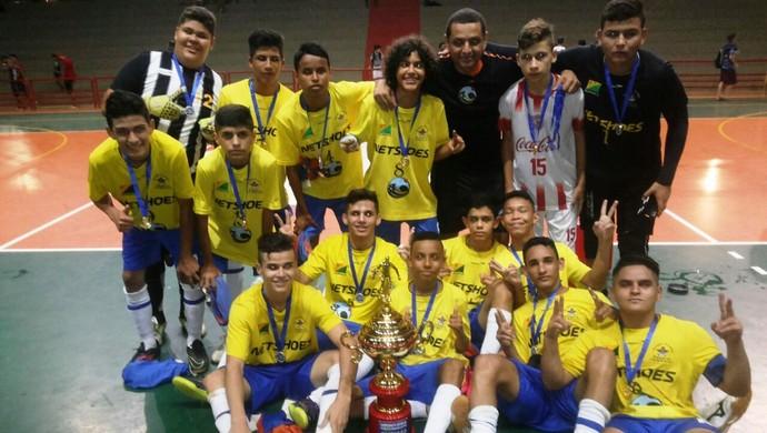 Villa campeão acreano sub-15 (Foto: Divulgação/Fafs)