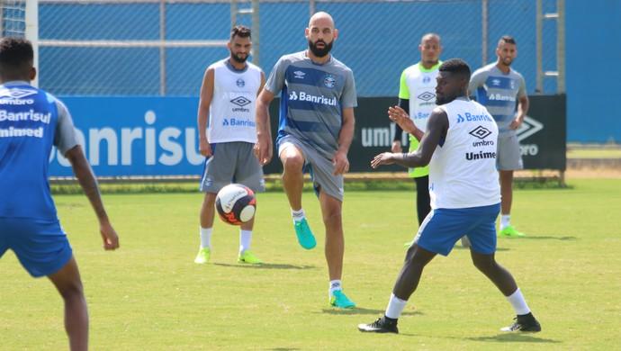 Bruno Rodrigo Grêmio (Foto: Eduardo Moura/GloboEsporte.com)