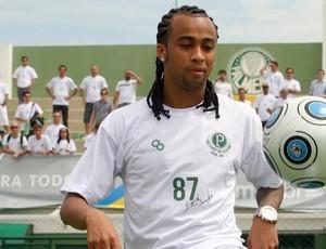 apresentação Wesley palmeiras (Foto: Anderson Rodrigues/Globoesporte.com)