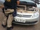 Polícia descobre carro roubado após motorista desrespeitar faixa no TO