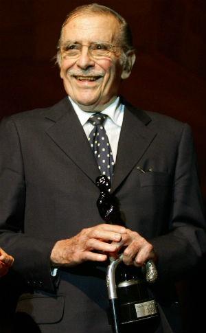 Ruy Mesquita, homenageado em evento em 2005 (Foto: Robson Fernandes/AE)
