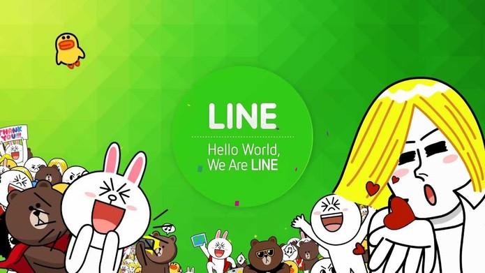 Line é um dos rivais do WhatsApp mais usado pelos internautas (Foto: Divulgação/Line)