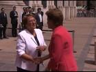 Dilma se reúne com Bachelet em visita oficial ao Chile
