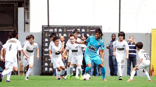 Festa 100 anos do Santos, Neymar (Foto: Marcos Ribolli / Globoesporte.com)