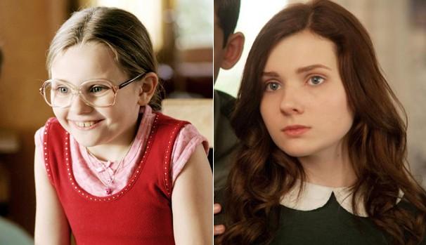 Abigail Breslin viveu a Pequena Miss Sunshine aos 10 anos de idade (Foto: Divulgação/Reprodução)