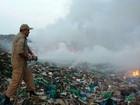 Incêndio em 'lixão' é controlado após 24 horas em Parintins, no AM