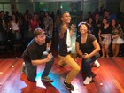 Humoristas fazem stand up comedy no Theatro Victória em Santarém
