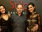 Ex-BBBs Emilly e Mayla curtem festa com filhas de Fátima Bernardes