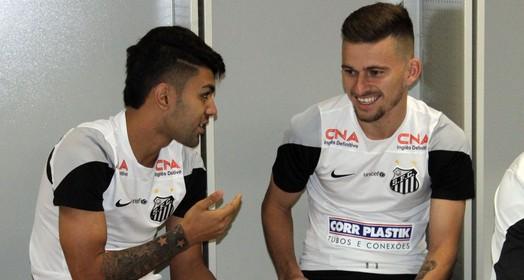 não saem? (Vinicius Vieira / Santos FC)
