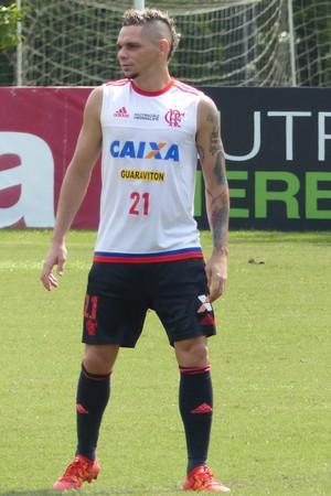 Pará Flamengo (Foto: Fred Gomes / GloboEsporte.com)