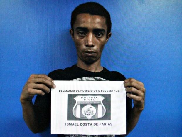 Polícia Civil afirma que suspeito contratou homem para se passar por ele em coleta para exame de DNA (Foto: Divulgação/Polícia Civil)