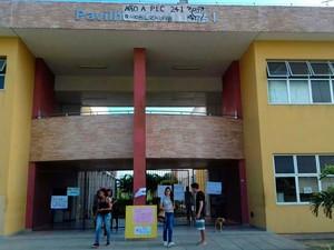 Campus da UFRB em Santo Antônio de Jesus, recôncavo baiano (Foto: Fábio Santos/ Voz  da Bahia )
