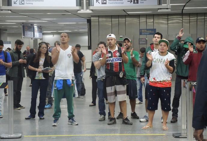 Desembarque Fluminense (Foto: Hector Werlang)