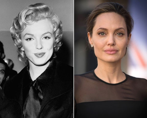 De Marilyn Monroe a Angelina Jolie: a evolução das it girls de Hollywood (Foto: Getty Images)