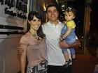 Veja os famosos que foram prestigiar o aniversário da filha de Flávia Alessandra e Otaviano Costa
