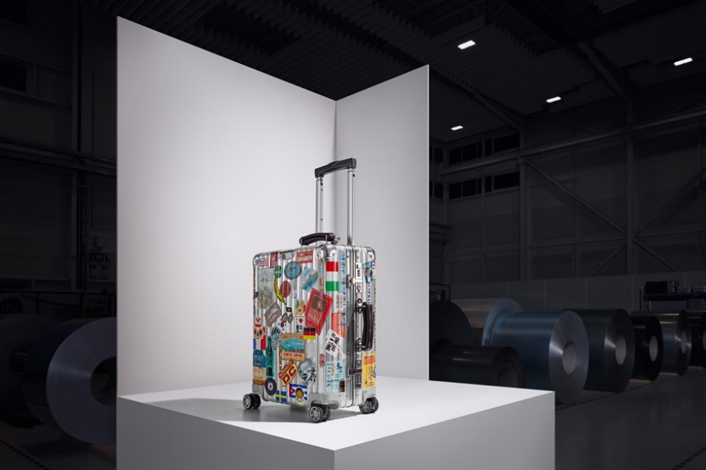 A mala de alumínio de Massimo Bottura (Foto: Divulgação)