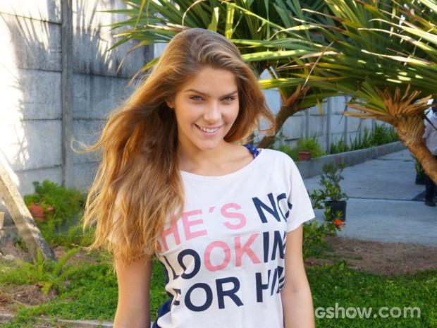 Isabella será a lutadora esquentadinha Karina (Foto: Malhação / TV Globo)