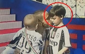 """BLOG: A """"empolgação"""" do filho de Bonucci, torcedor do Torino, com o título do pai"""