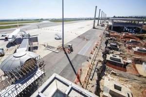 obra aeroporto Afonso Pena Cuiriba Copa (Foto: Portal da Copa / Divulgação)