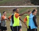 Criciúma reintegra Rodrigo Silva e Rogério, que aparecem em treino
