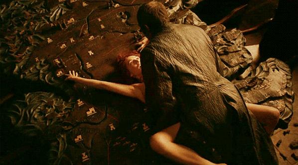 Lady Melisandre e Stannis Baratheon (Foto: HBO / Reprodução )