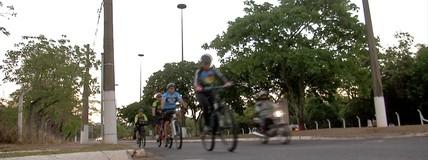 Cruzada solidária mobiliza ciclistas de várias regiões do país