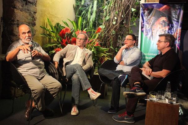 Casa do Autor Roteirista sediou a mesa Dias Gomes e o Realismo Fantástico em Saramandaia (Foto: Luciana Serra)