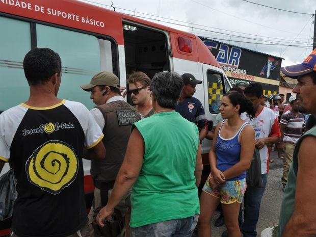 Acidente deixa turistas feridos no extremo-sul da Bahia (Foto:  Danuse Cunha / Itamaraju Notícias)